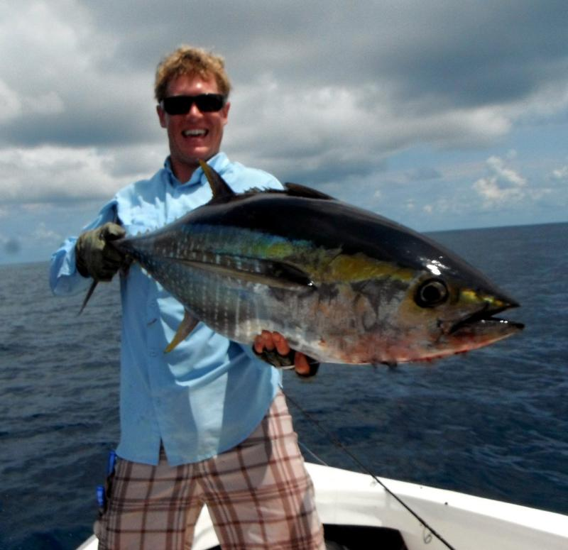 Big Tuna on a Popper!