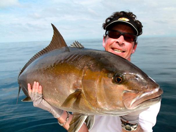 Big Amberjack Caught Near Cano Island