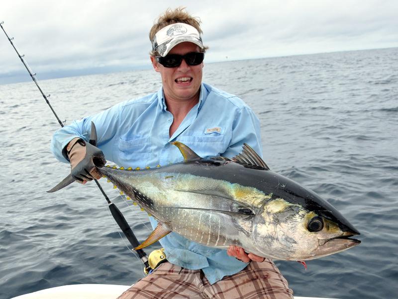 Big Tuna Caught Near Cano Island