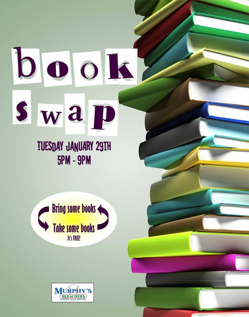 bookswap at bleachers