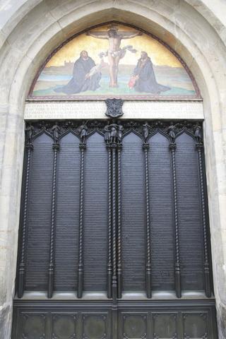 95 Theses Doors
