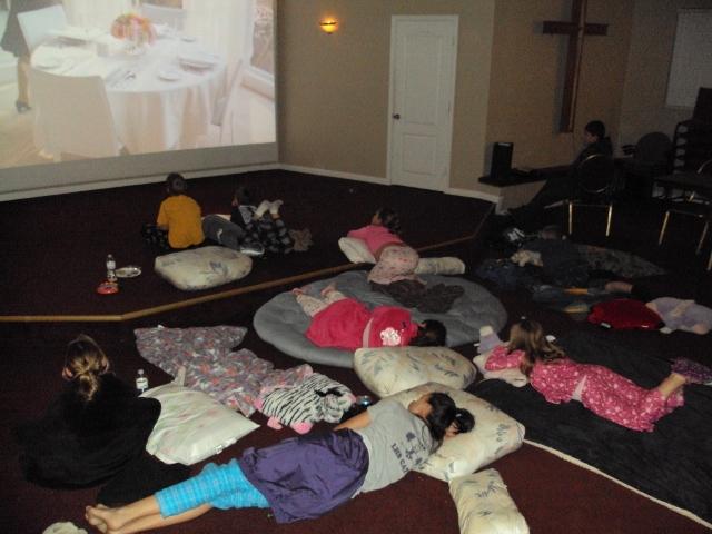 kids movie night 5