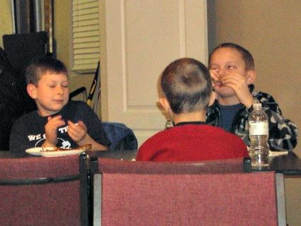 kids boys movie night