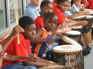 Kuumba Kids Drumming