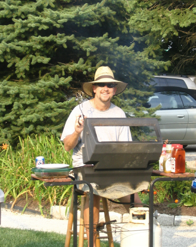Dennis at the Grill