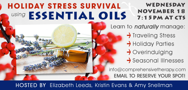 Holiday Stress Survival using ESSENTIAL OILS