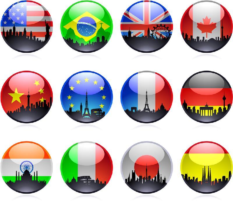 bubble flags