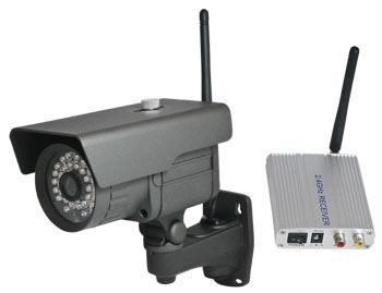 Analog Wireless Cameras Inexpensive Alternative To Wifi