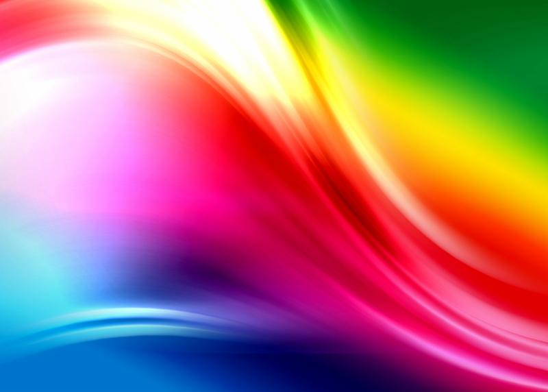 rainbow background abstract composition with flowing design