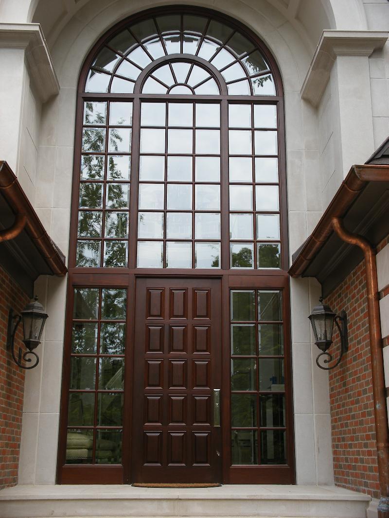 Mahogany Entry Door