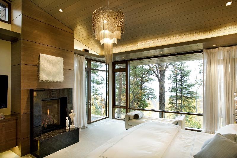 Luxury aluminum clad windows