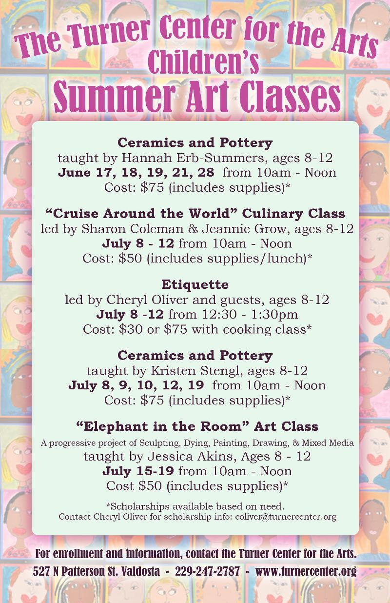 2013 Summer Art Camps