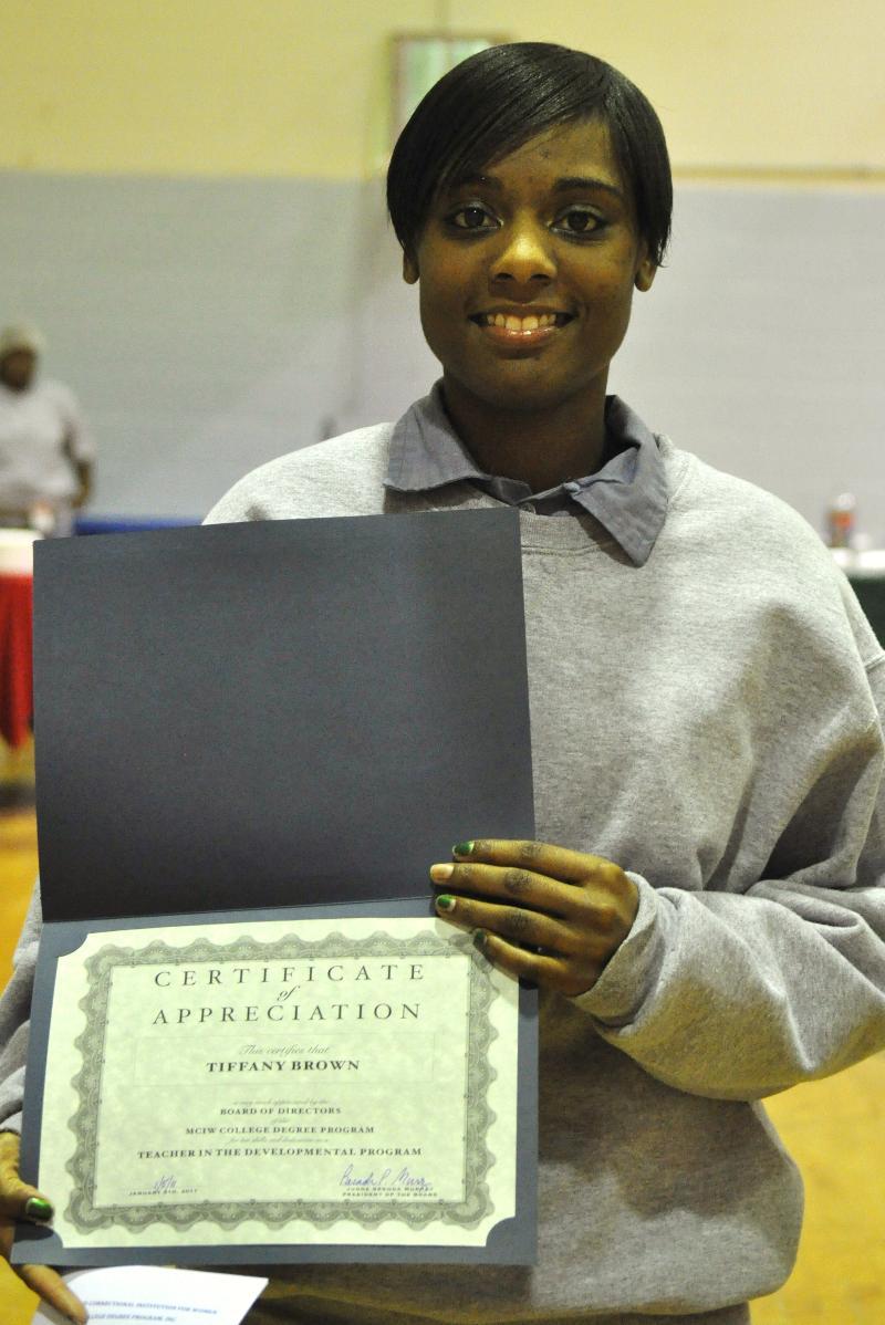 MCIW college certificate