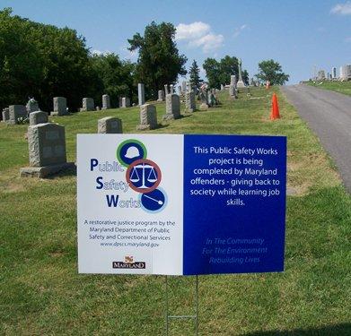 PSW sign at Williamsport