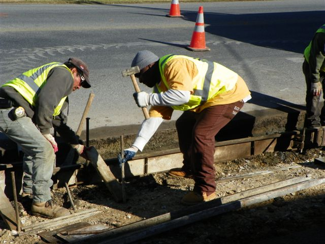 Salisbury curb project