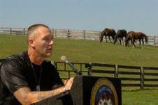 horse farm (Eddie Rybolt, former inmate)