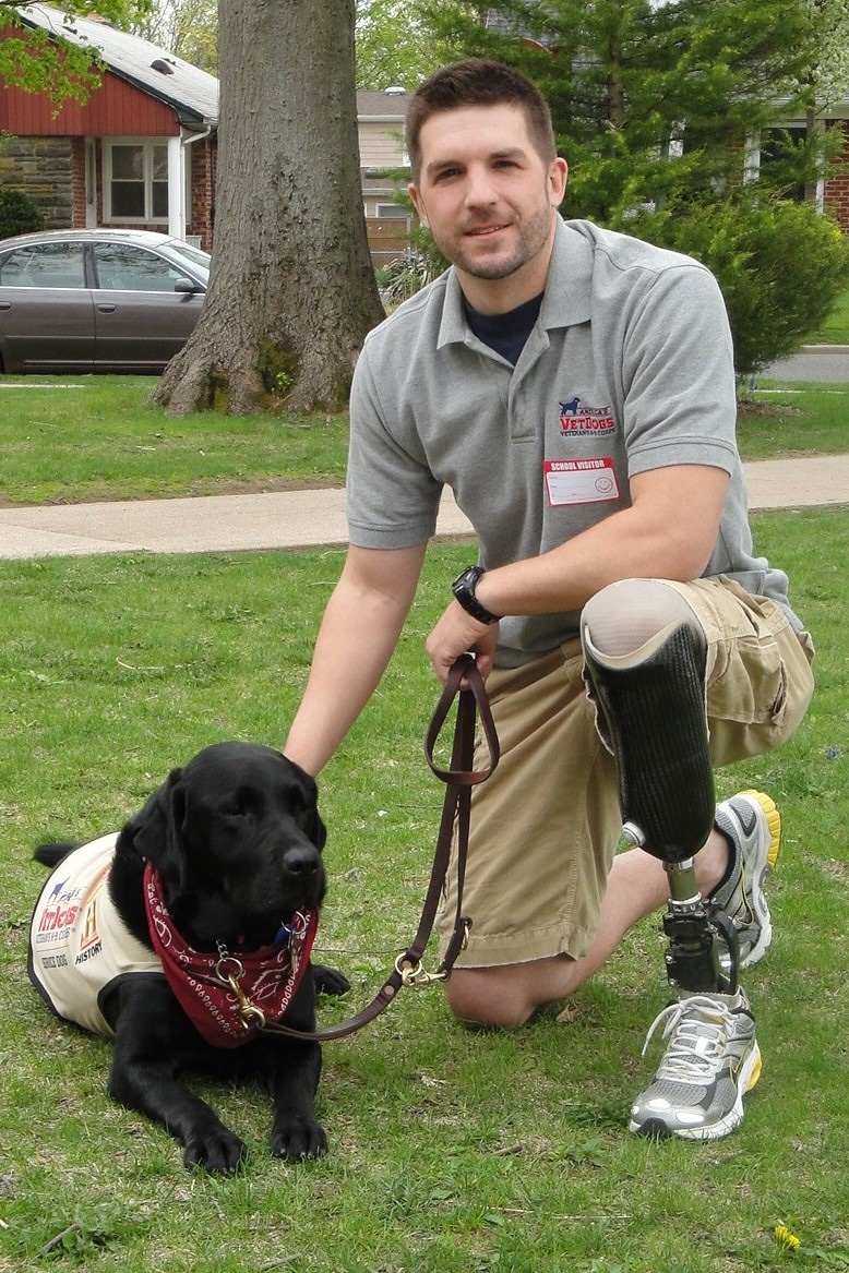 VetDogs rep Dan Lasko
