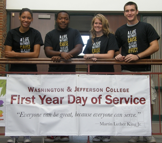 First Year Day of Service