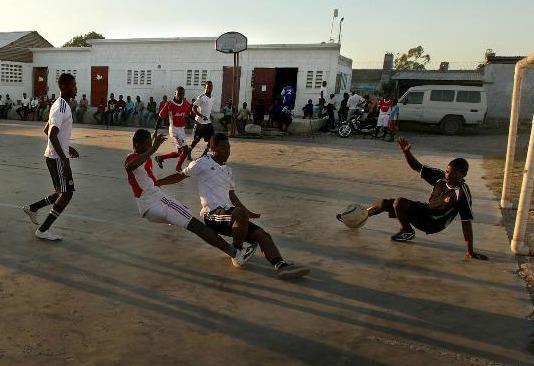 Haiti soccer SAKALA