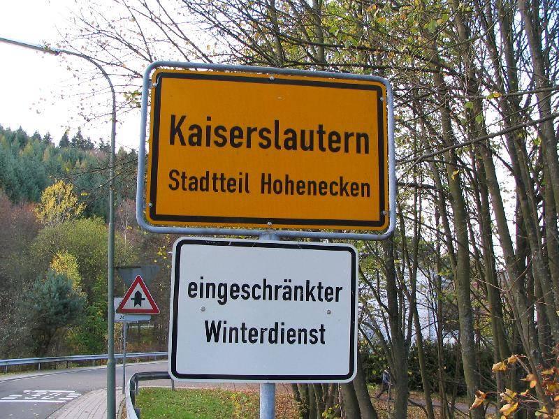 Kaiserslautern, Germany sign