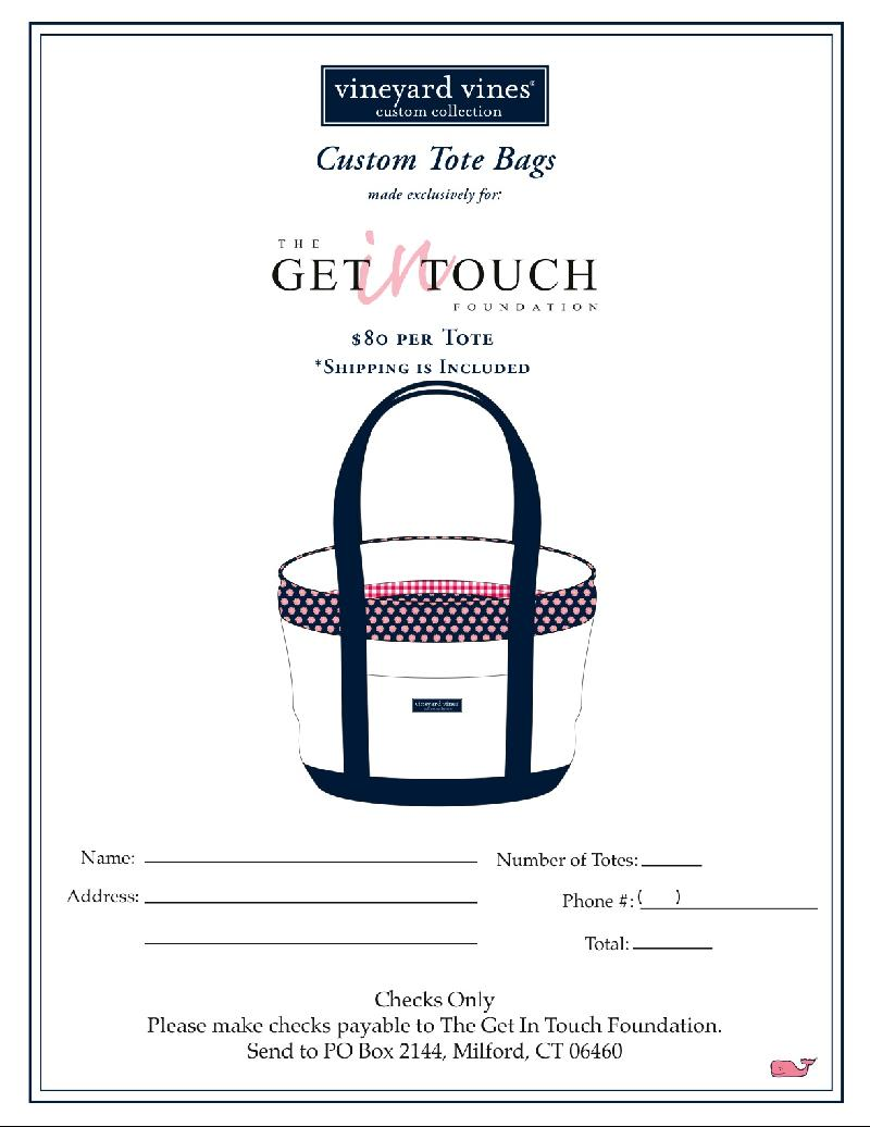Vineyard Vines order form