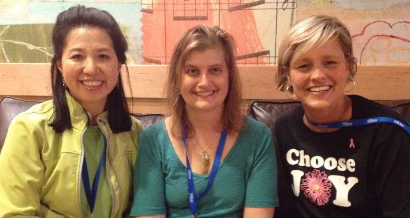 Miyoung, Lisa Stember and me