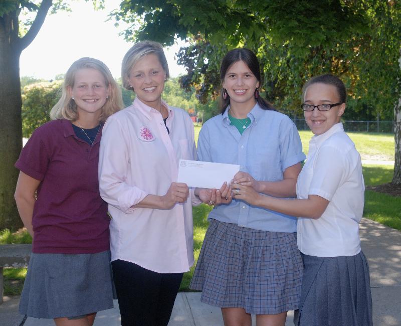 SJHS Prom donation