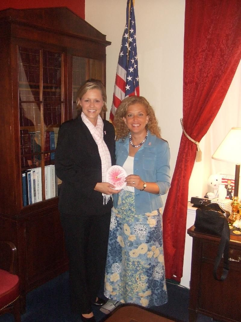 Congresswoman Debbie Wasserman Schultz