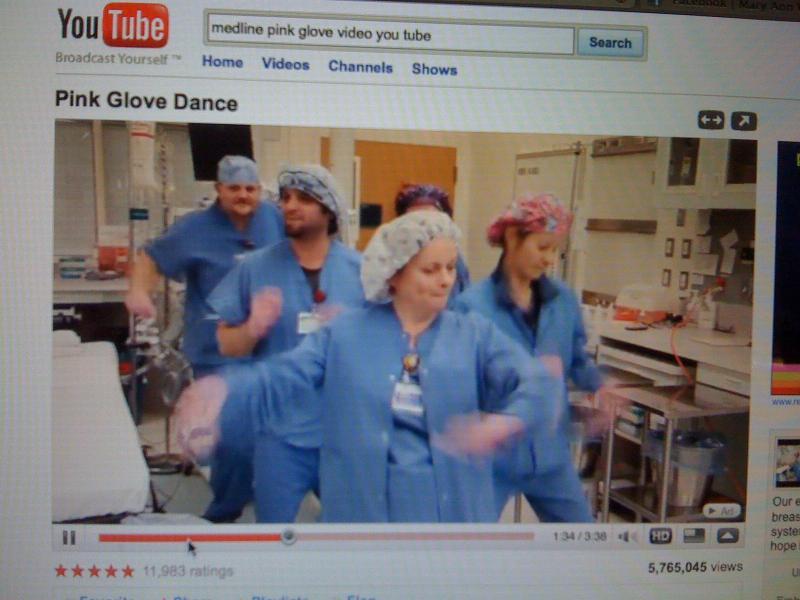 Pink Glove video