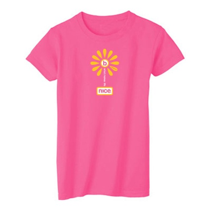 wouldn't it be nice pink tee