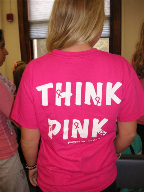 2010 GYPOD think pink tee