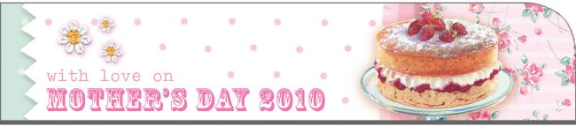 8 for Mother's Day banner