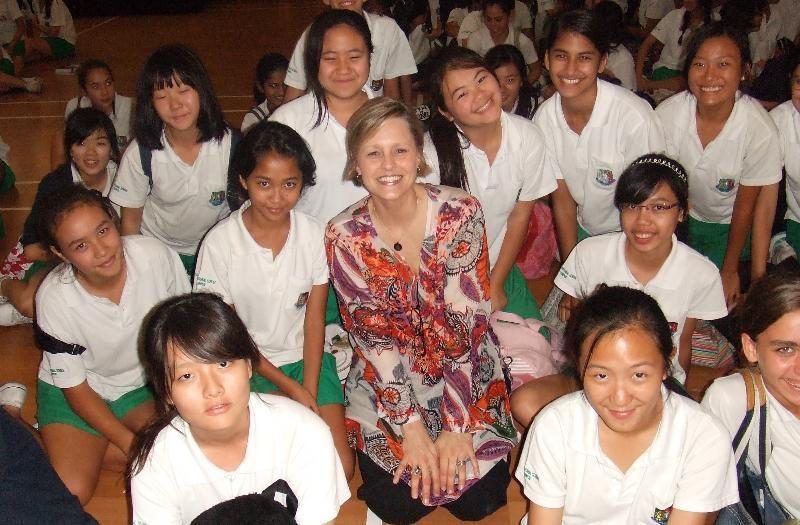 Garden Int. School girls