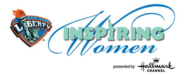 NY Liberty Inspiring Women logo
