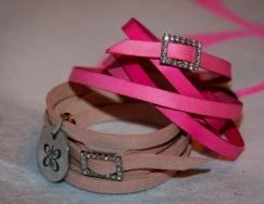 leather OM bracelets