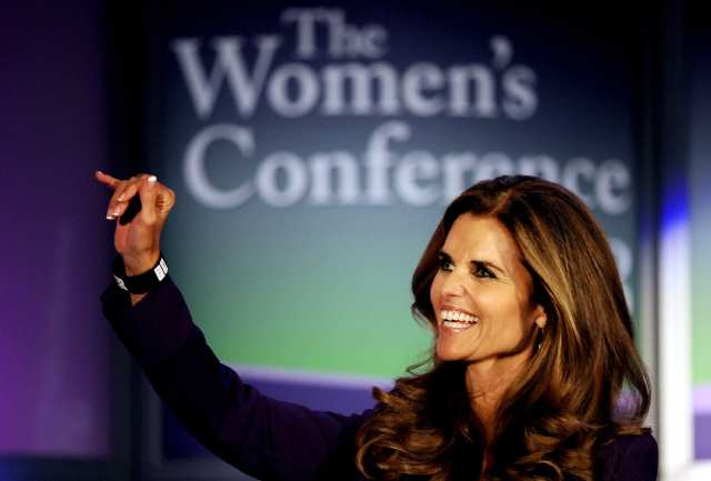 Maria Shriver, The Women's Conference