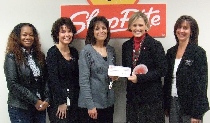 Shop Rite check presentation 2010