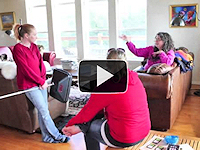 Video montage of Women's Energy Auditing Course