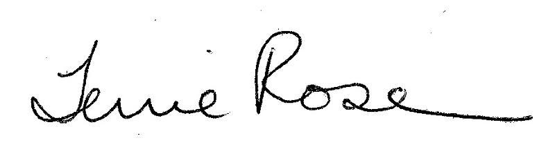 terrie rose signature