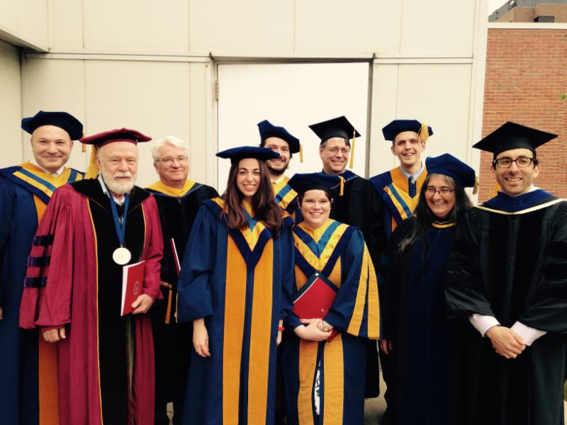 Ecology and Evolution spg 2015 Graduates