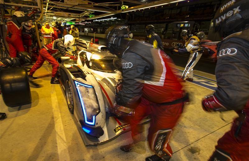 Le Mans 2013 pit
