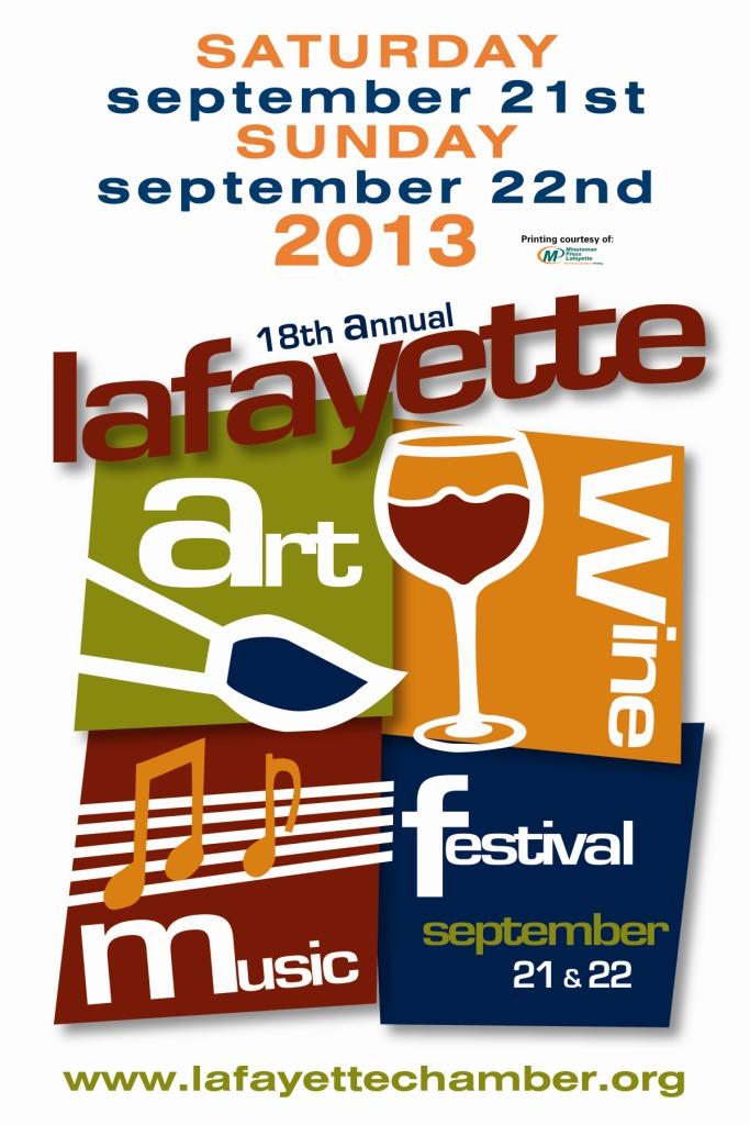 Art & Wine - 2013 Logo
