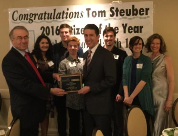Citizen of the Year 2016 Tom Steuber