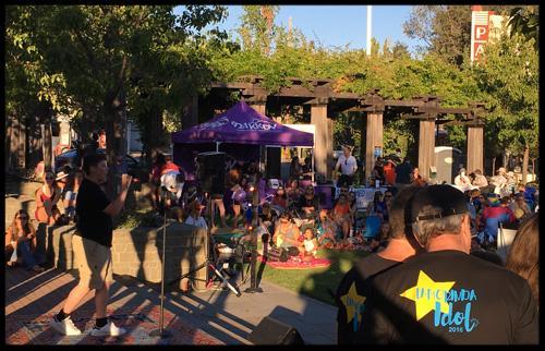 Rock the Plaza  2016 - Lamorinda Idol Finalists