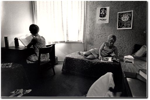 women in dorms 1961