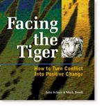 Facing the tiger