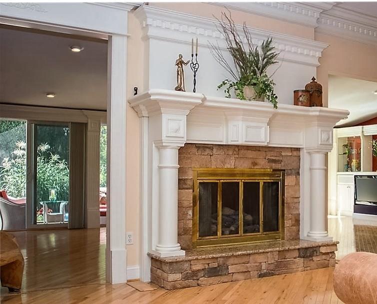 Rehoboth fireplace