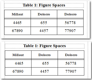Figure Spaces