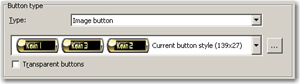 Custom button available in Captivate