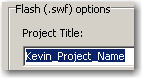 Published file name without spaces
